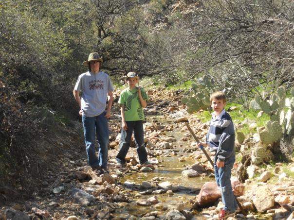 The Desert Boys.