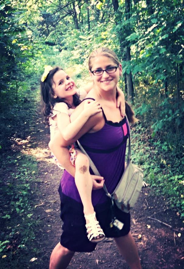Fiala with my dear cousin Anna, in Lexington, KY.  July 2014.