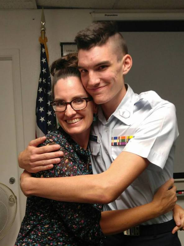 Grant promoted to the rank of Chief in Civil Air Patrol Cadets on Monday.